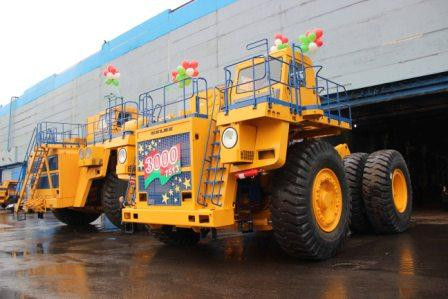 3000-th unit of BELAZ-7513