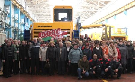 5000-th dump truck with payload capacity of 45 tonnes